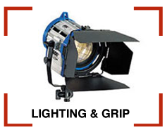 Lighting and Grip Rentals